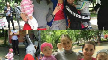 Fitness s baby путешествует по России